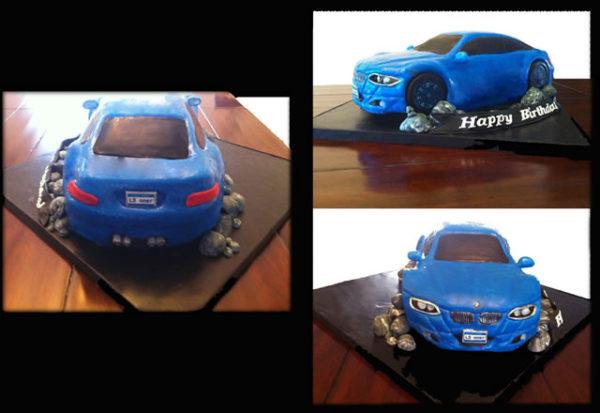 A BMW Birthday Cake