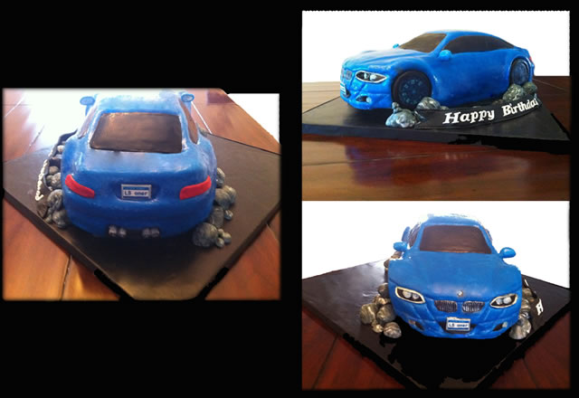 A BMW Birthday Cake