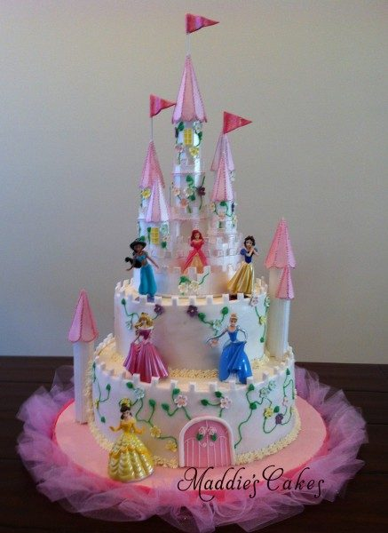 A Happy Birthday Castle for a Princess