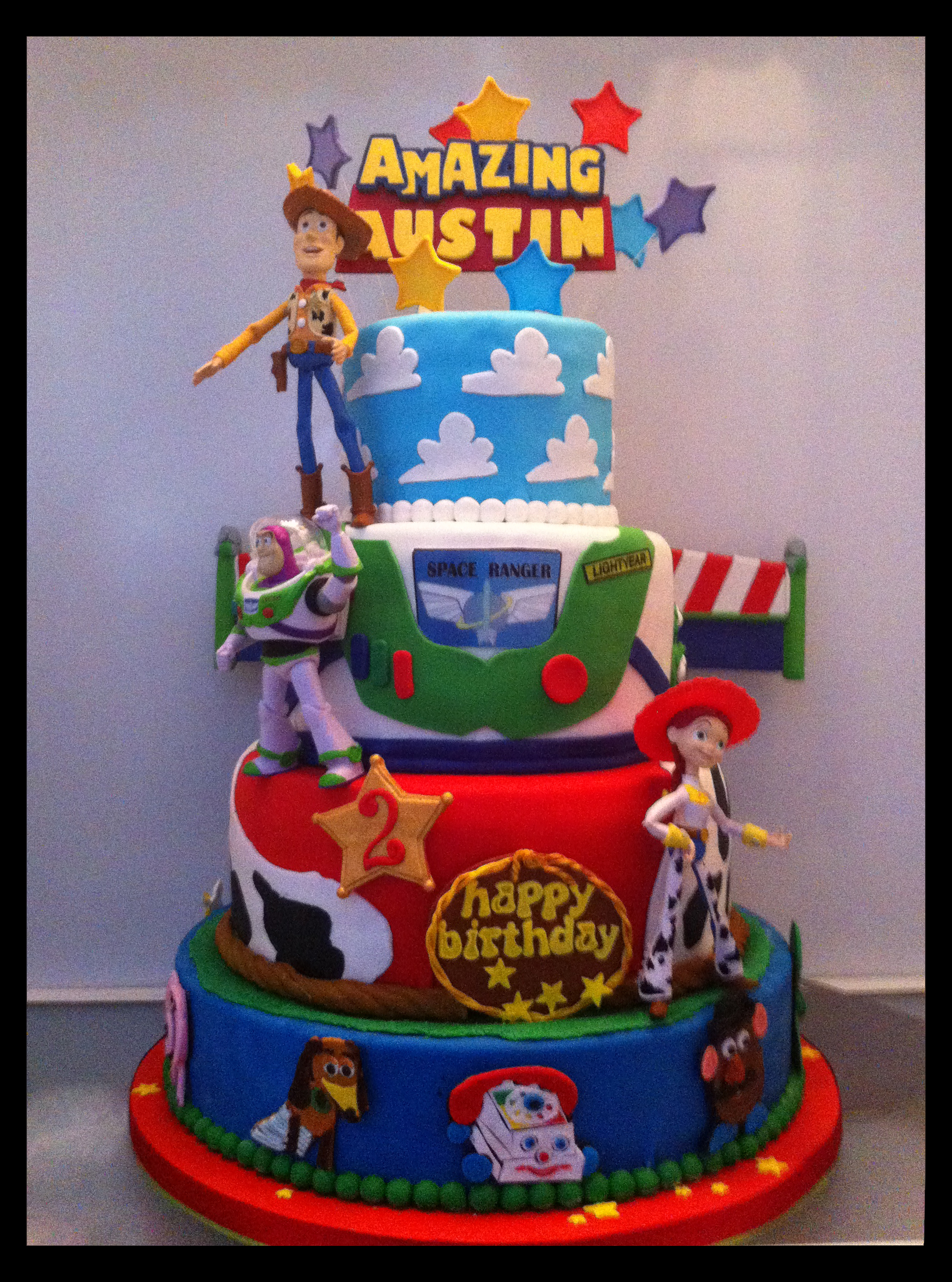Amazing Austins Toy Story Birthday Cake