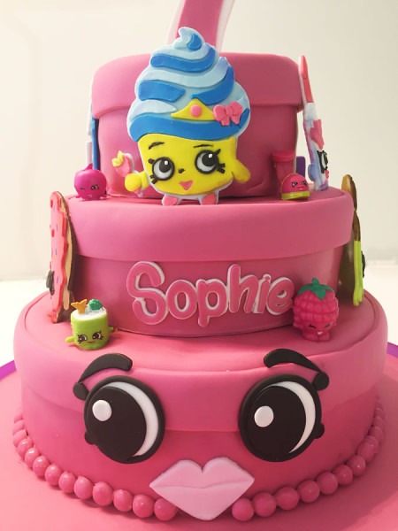 Shopkins Theme Cake for Sophie's first birthday