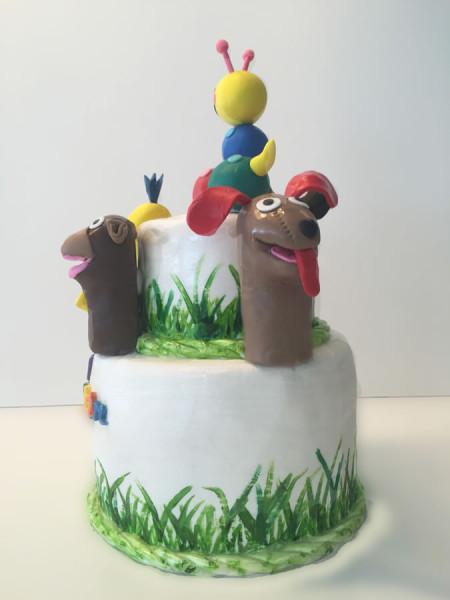 Baby Einstein theme Cake and Cupcakes