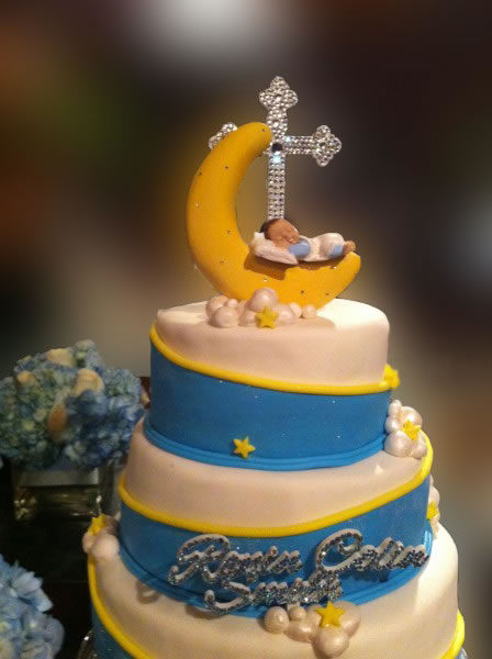 Ronin's Christening Cake
