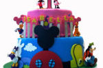 Mickey Mouse Clubhouse Custom Birthday Cake