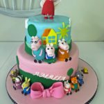 Peppa the Pig Birthday Cake New York