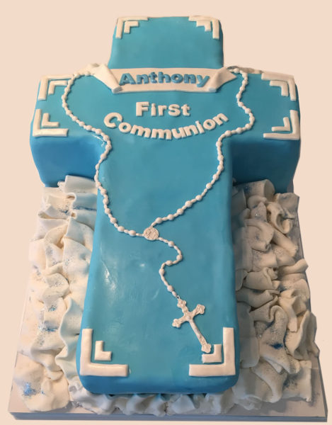 Baby's First Communion Cake