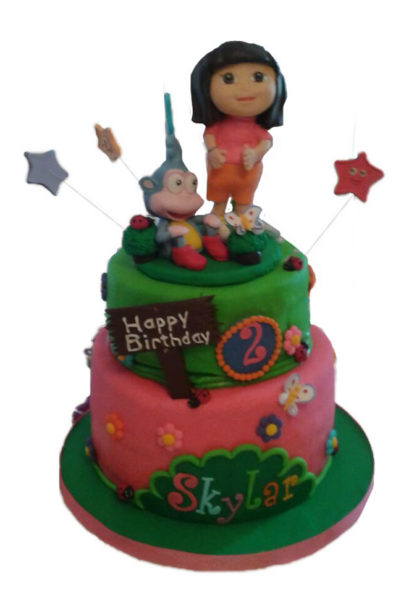 Dora the Explorer Birthday Cake