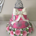 Ari Turned One Year Old And Her Family Was Overjoyed They Wanted To Share Their Happiness With Friends The Centerpiece A Vanilla Cake