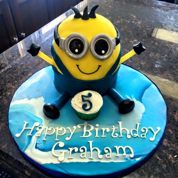 Minion Birthday Party for 5-year-old boy
